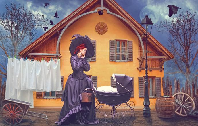 Дама с коляской